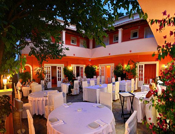 Etrusco Restaurant Corfu